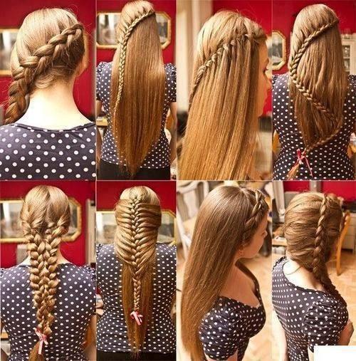 Как плести модную причёску