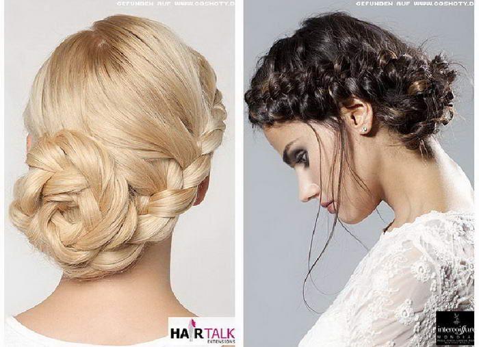 Интересное плетение для длинных волос