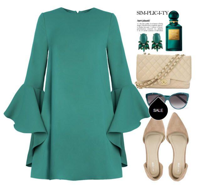 Модные повседневные платья на осень   Все для женщины 2fcd66bd1e5