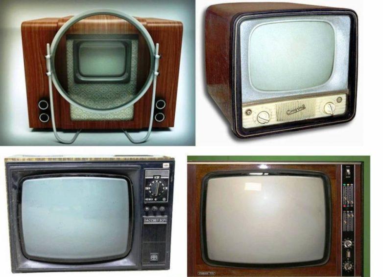 Телевизоры Советского Союза