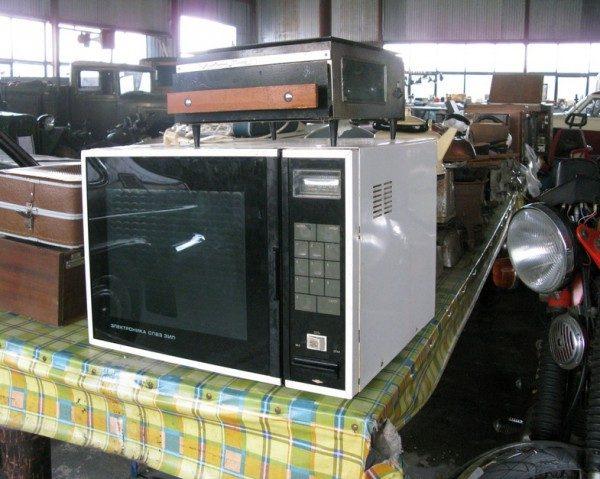 Советские микроволновые печи