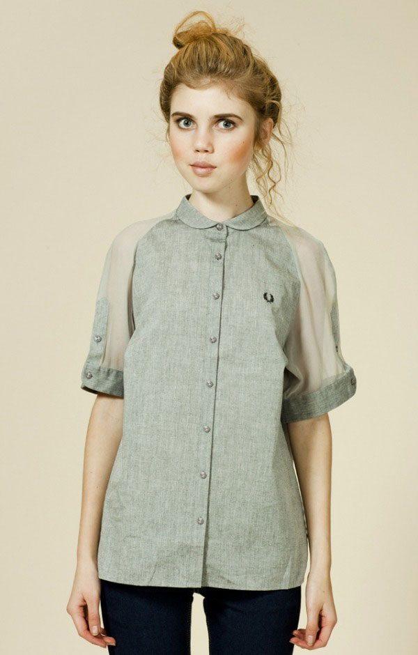 Переделать Женскую Рубашку Блузку