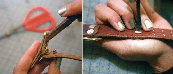изготовление ошейников своими руками