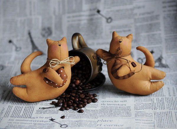 Коты собаки своими руками куклы