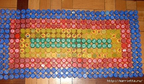 Поделки из крышек от бутылок для взрослых 94