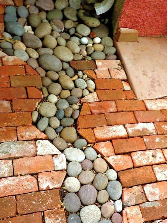 Камни у вас во дворе - прочно и красиво / Я - суперпупер