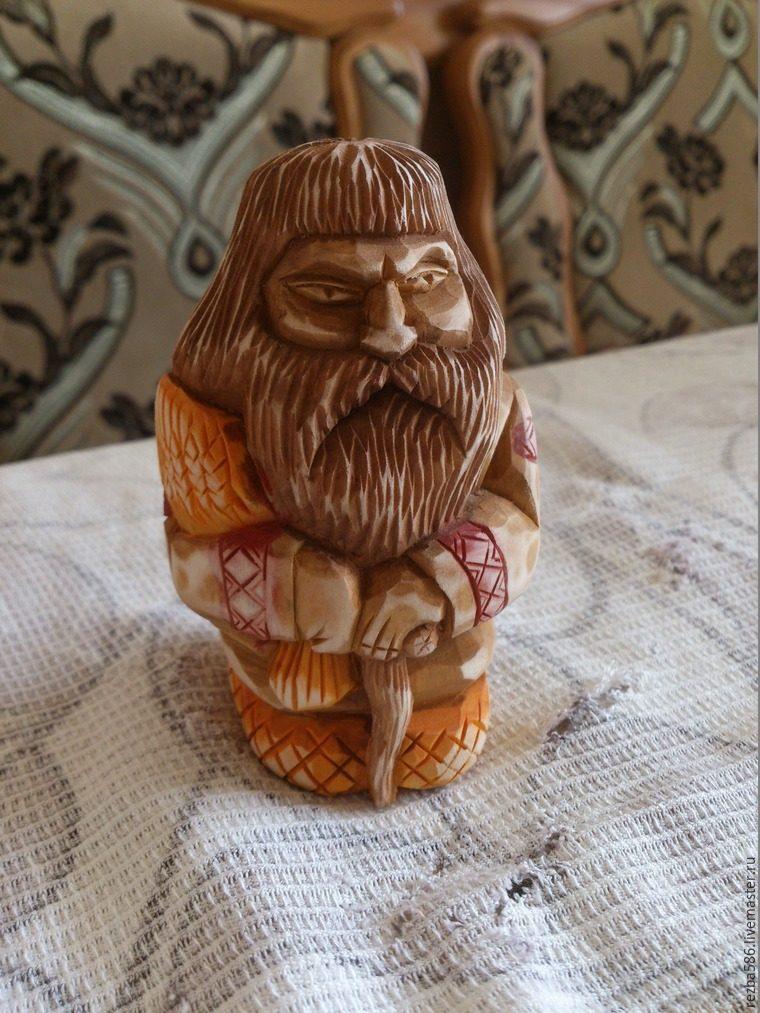 Домовенок из дерева своими руками 80