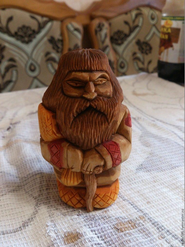 Домовенок из дерева своими руками