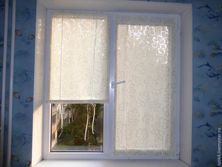 Как сшить шторы на липучке к окну