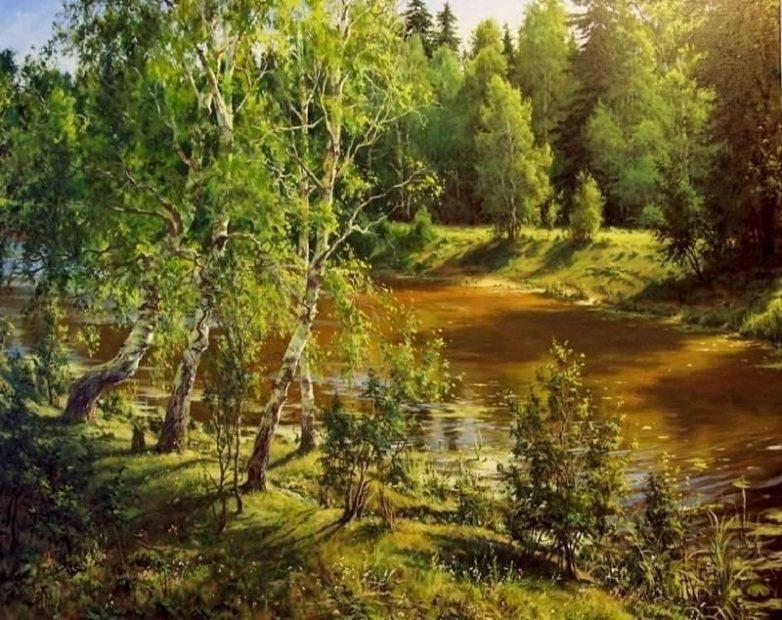 Невероятные картины Сергея Басова.
