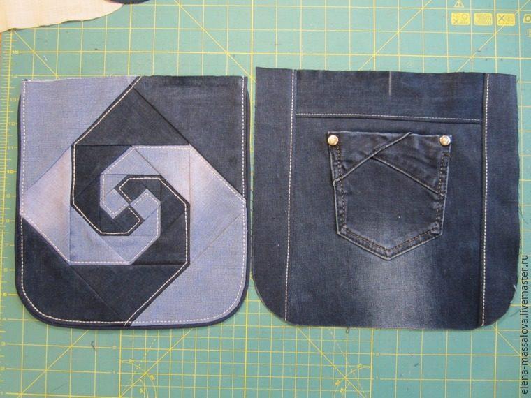 Сшить сумку из джинса своими руками мастер класс разные модели