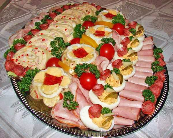 Праздничная нарезка: мясная тарелка. Супер коллекция!