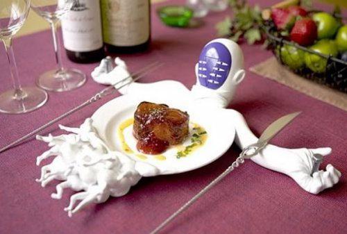 Необычные блюда и тарелки