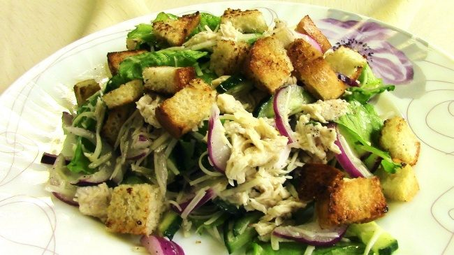 Рецепты легких салатов без майонеза с фото