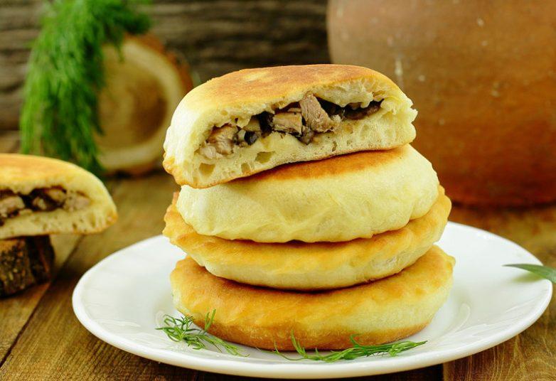 лепешки с мясом рецепт с фото