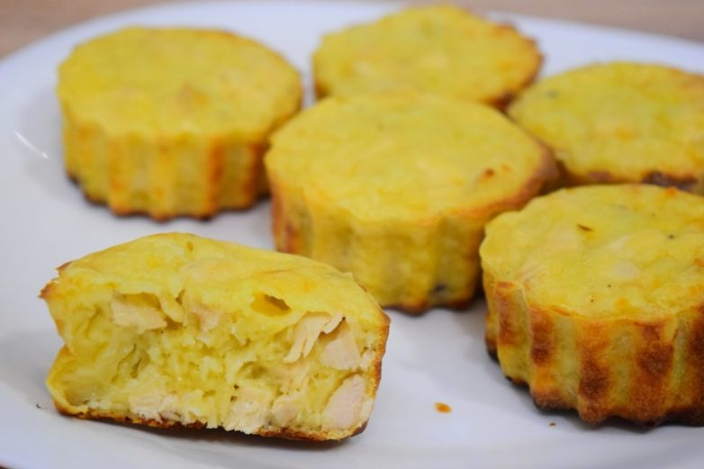 Куриные маффины рецепт с фото пошагово