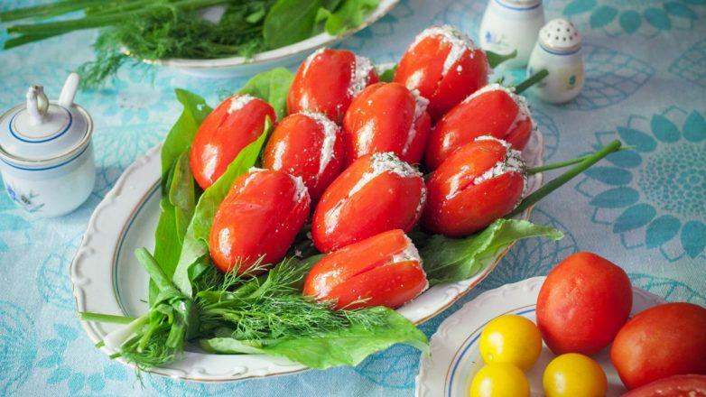 Закуска тюльпаны рецепт с фото