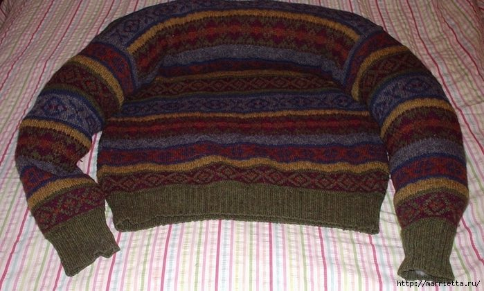Свитер для собаки своими руками из свитера