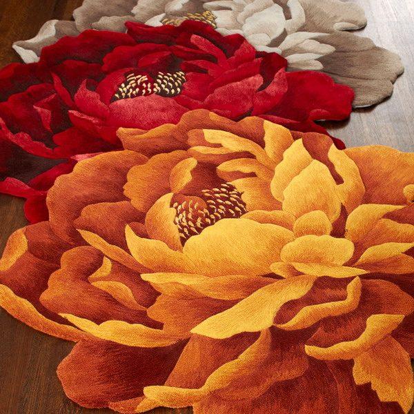 Ковры с цветами