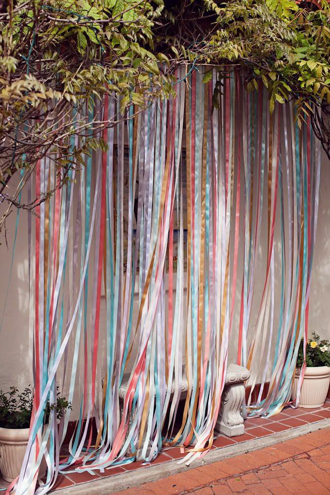 Как сделать шторы лентами 103