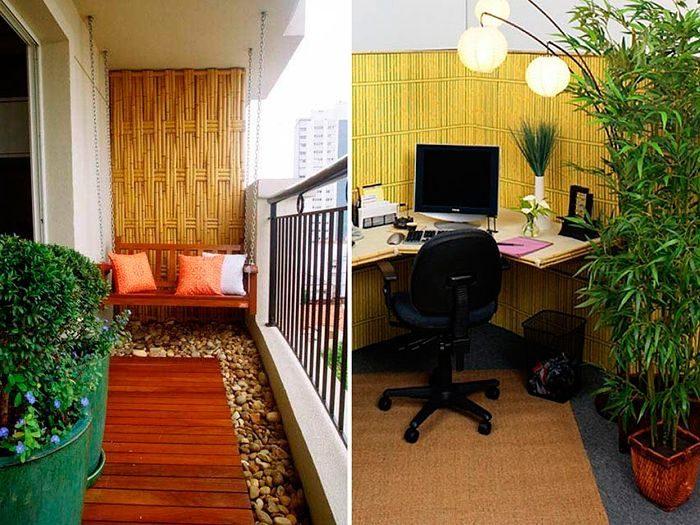 Живой экостиль: бамбук в интерьере / домоседы.