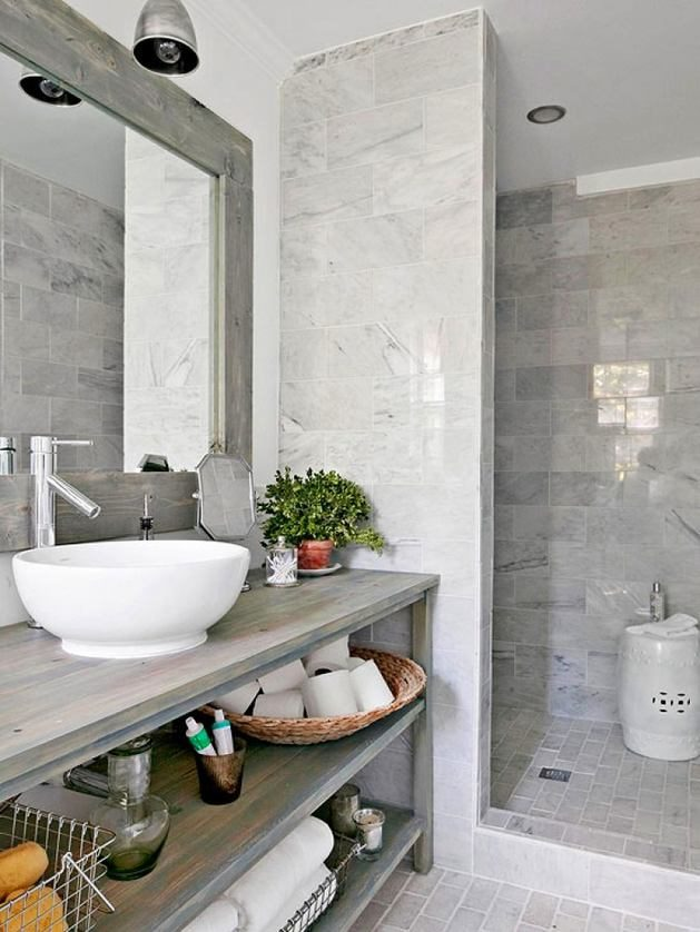 Gray Bathroom Photos  HGTV