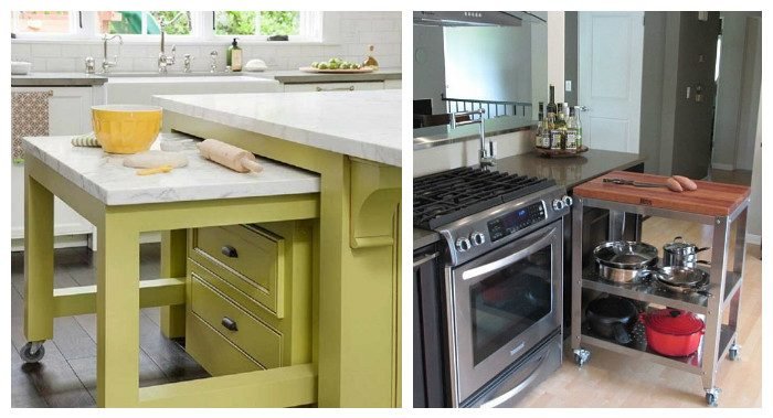 Самые эргономичные столы для маленьких кухонь