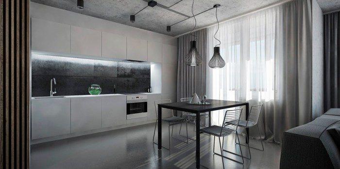 Применение декоративного бетона в интерьере