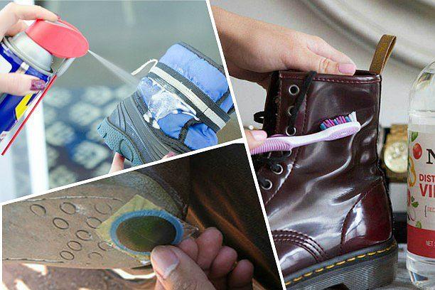 10 cпособов уберечь обувь в непогоду