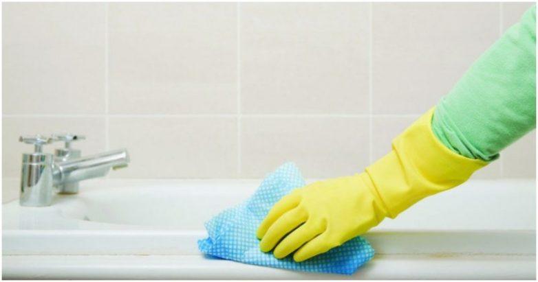 Как быстро навести порядок в ванной комнате