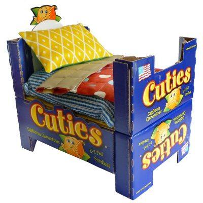 Как для куклы сделать кровать из бумаги для кукол