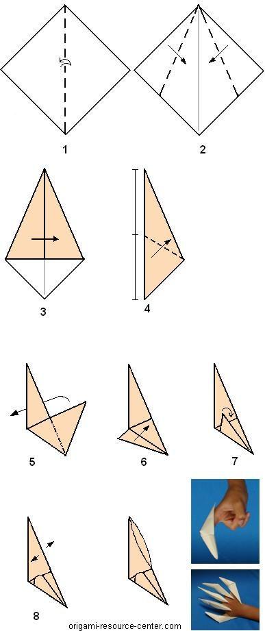 Как сделать бумажные ногти