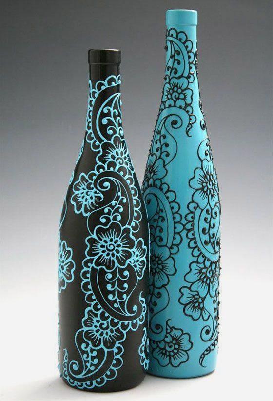 Как можно вторично использовать стеклянные бутылки: udav102