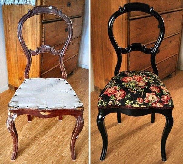 Идеи своими руками стул