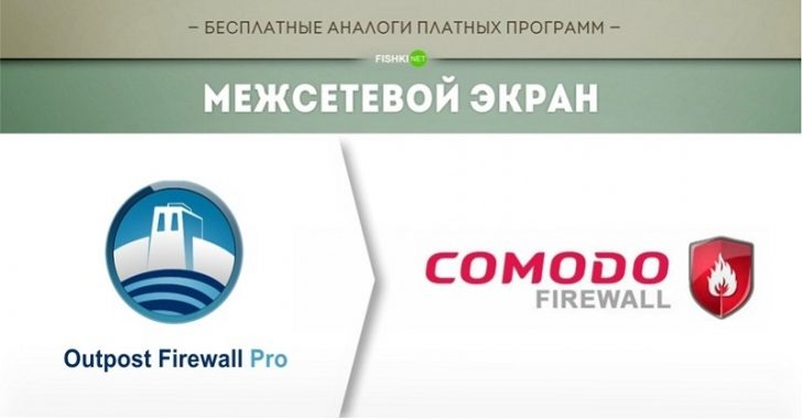 Outpost firewall pro компоненты