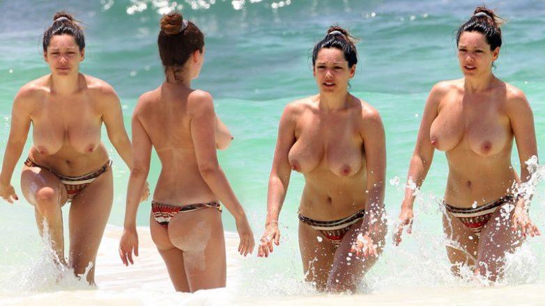фото голых звезд на пляже