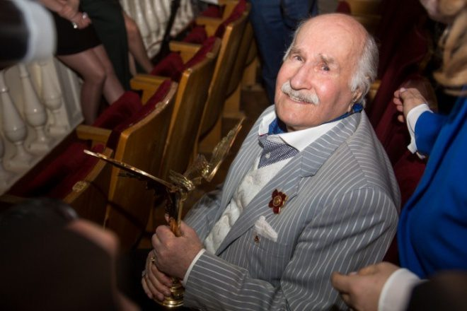 Владимиру Зельдину 100 лет