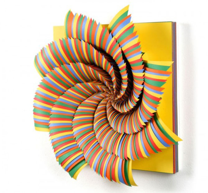 art 100 paper Paper art: 100 extraordinary examples above, the work of jen stark and 99 more lovely examples of paper art in this post at web designer depot (via chris watson).