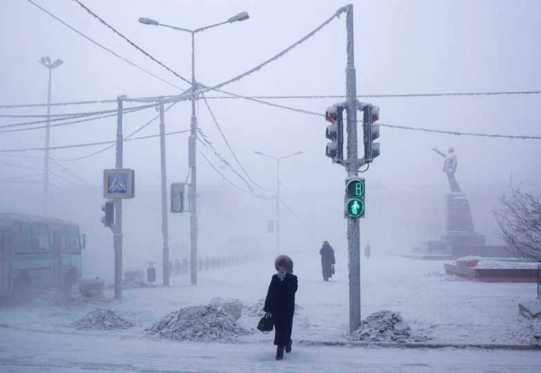Самый холодный город на Земле