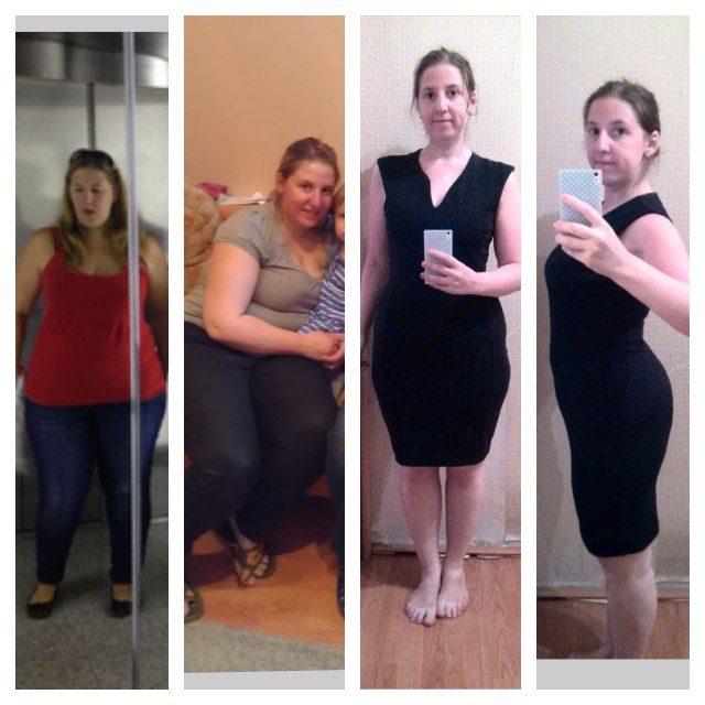 похудели до и после фото и история