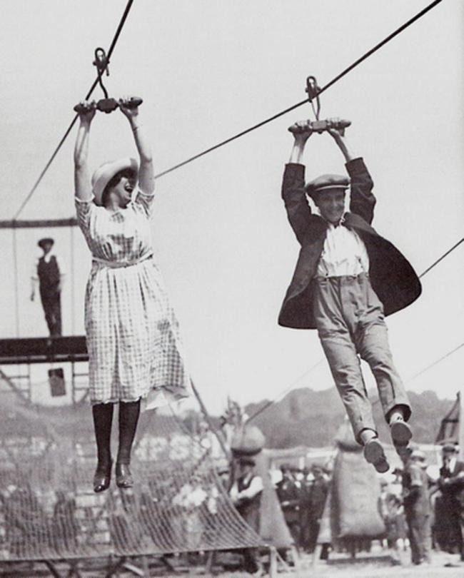 Удивительные ретро фотографии о жизни в прошлой эпохе