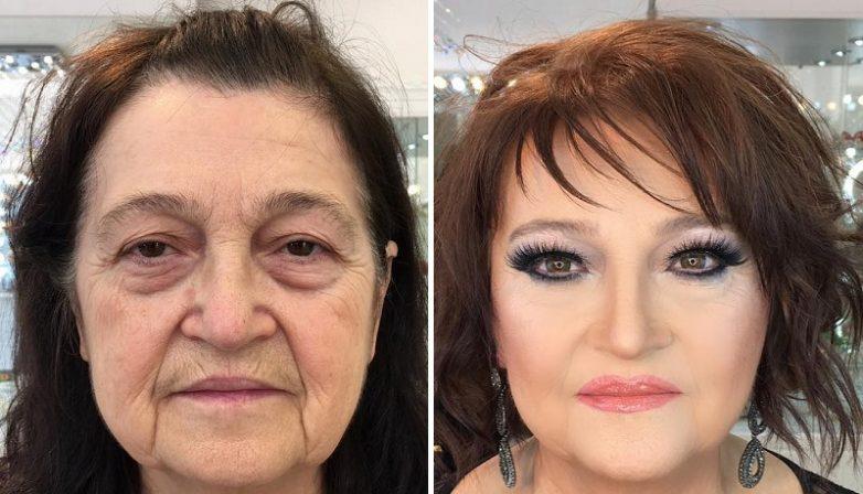 622cb0c22f Вот как макияж может изменить женщину до неузнаваемости