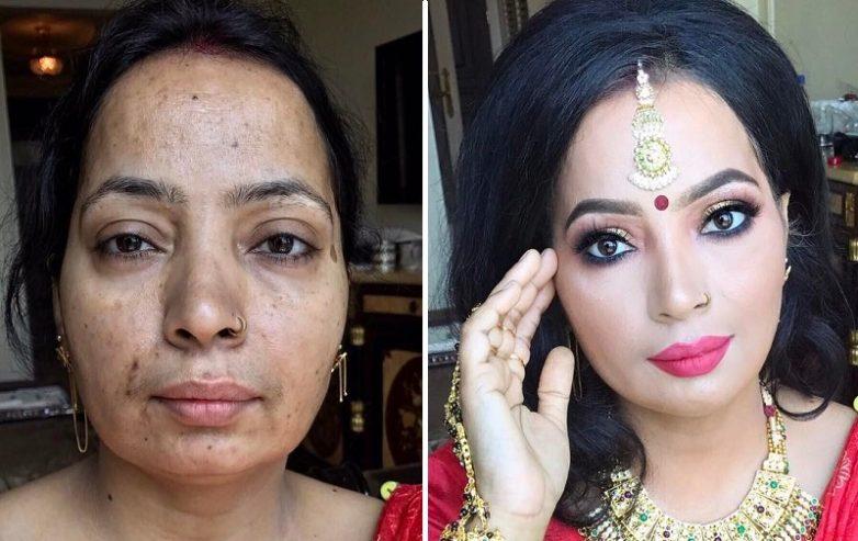 f460c7c4eb Вот как макияж может изменить женщину до неузнаваемости