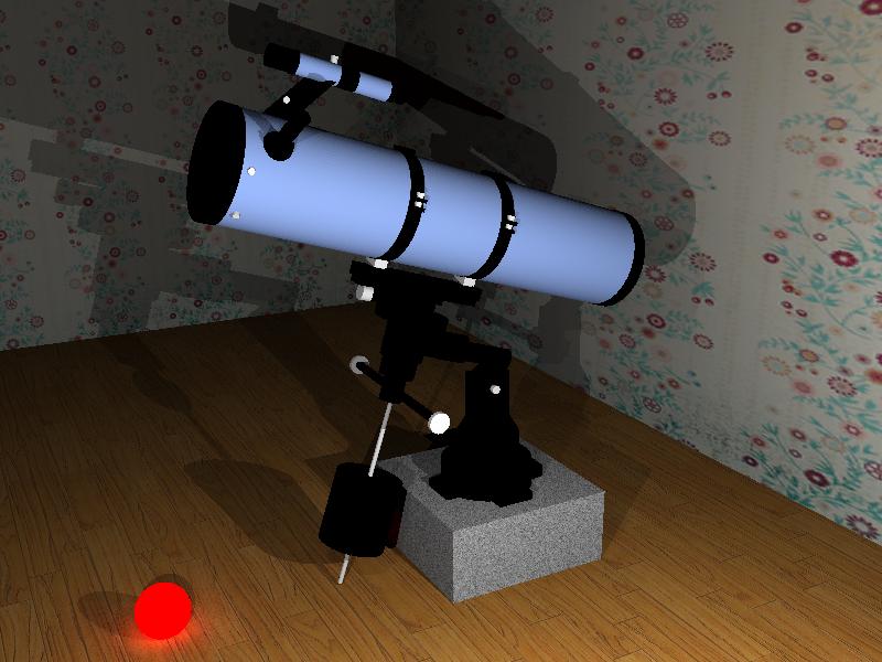 Как сделать свой телескоп 854
