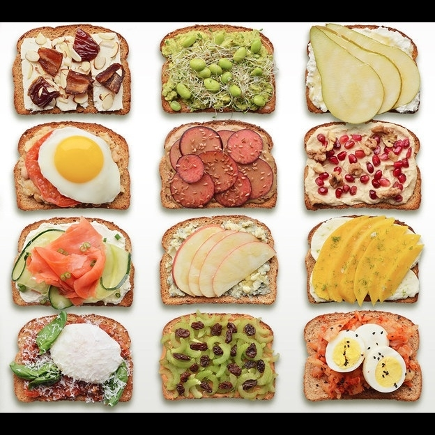 Тосты к завтраку рецепт