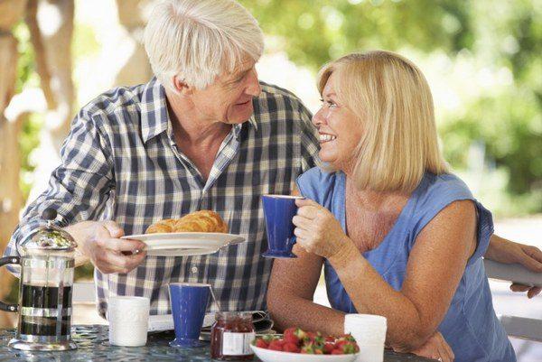 как похудеть после 60 лет женщине меню