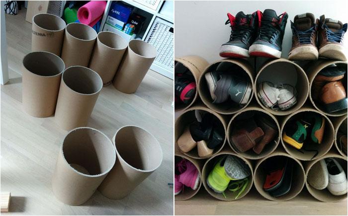Подставка для туфель своими руками 27