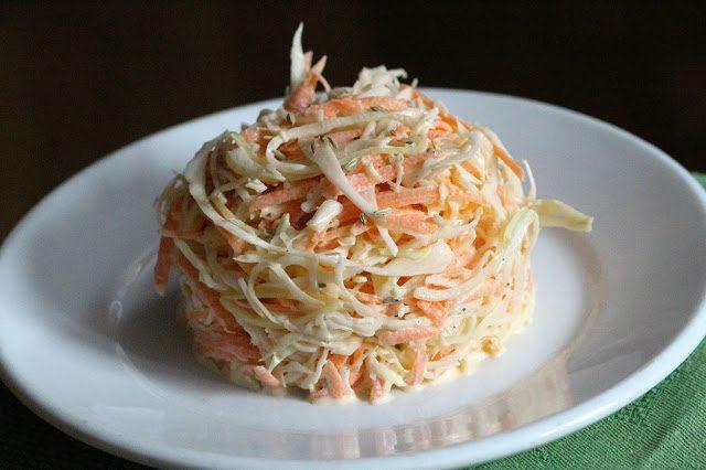 салат с капустой с морковью и майонезом
