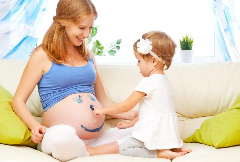 Ребенку 2 года беременна вторым 92