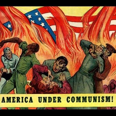 «Красная угроза» или антикоммунистическая истерия в США
